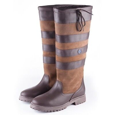 Rydale Malham Classic Wide Calf Fit Country Leather Boots for Riding & Hiking