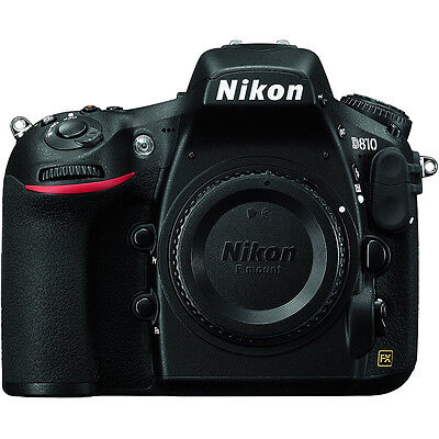Nikon D810 36.3MP 1080p FX-Format DSLR Camera  (Body Only) Factory Refurbished