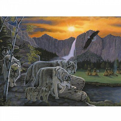 Royal & Langnickel Path of the Wolf Spirit - Large Paint By Numbers