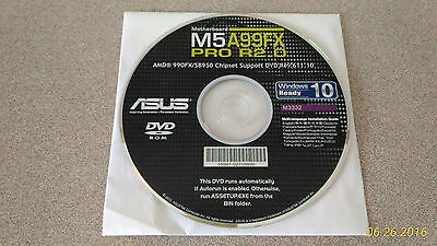 """""""NEW"""" ASUS M5A99FX PRO R2.0 Motherboard Drivers Installation DVD"""