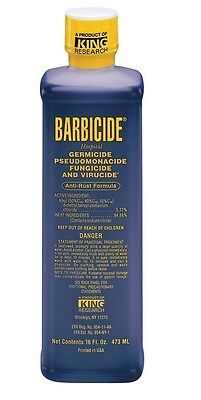 Barbicide Disinfectant Concentrate Solution Germicide Anti-Rust Formula- 473ml
