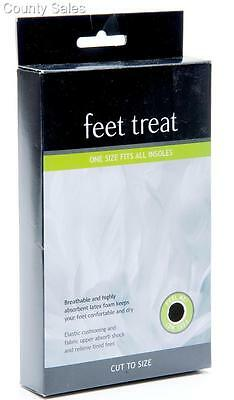 42 pairs 'feet treat' one size fits all insoles - cut to to size - free postage