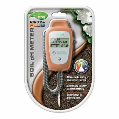 Luster Leaf 1847 Rapitest Digital Plus Soil Garden Plant pH Meter Sensor Tester