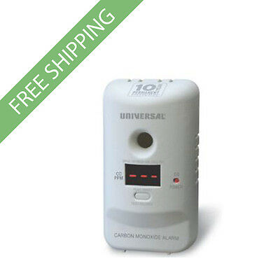 USI MCD305SB Carbon Monoxide Smart Alarm with 10 Year & Display Screen