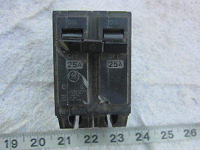 NEW GE GENERAL ELECTRIC THQB2125 2P 25A 240V CIRCUIT BREAKER