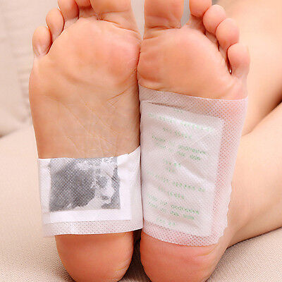 10/20 Pcs Detox Foot Pads Patch Detoxify Toxins Adhesive Keeping Fit Health Care