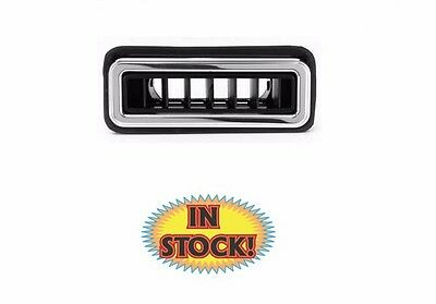 "Vintage Air VA49062-VUQ - A/C Vent Louver Streamline - Polished 1-3/4""x 4"""