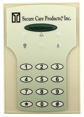 SECURE CARE PRODUCTS INC HOMEWATCH Home Care Security Residential Wandering NEW