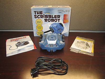 Parallax Scribbler Robot Blue 28136 Ages 8+ Windows Compatible Free Shipping
