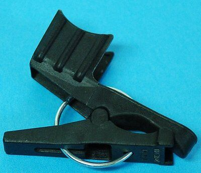 """Racking cane tube clip clamp for pail or carboy for 1/2"""" cane"""