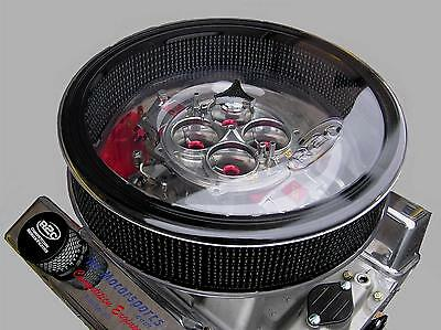 R2C Performance 18IN ROUND AIR CLEANER BASE CLEAR