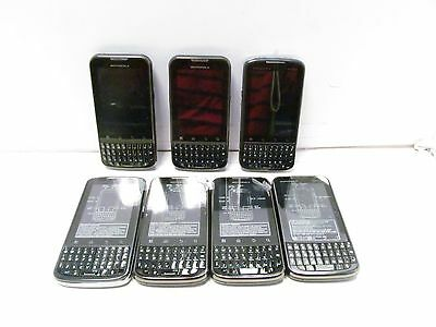 Lot Of 7 Motorola Droid Pro Xt610 (Sprint) Developer Phone As Is Untested