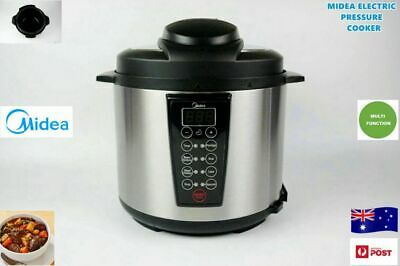 Midea Multi-Function Automatic Electric Pressure Cooker - 6 litre (Brand New)