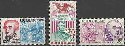 Timbres Tchad PA197/9 ** (14380)
