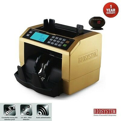 Office Bank Use Money Bill Note Counter Voice Speak Machine Total Cash Notes