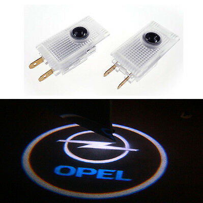 For Opel Insignia LED Car door Logo Projector Light Courtesy Ghost Lamp UK
