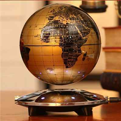 NEW  Educational Magnetic Levitation Floating 6 inch Globe Map GIFT