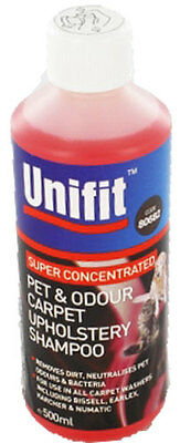 Pack Of 2 Pet And Odour Carpet Upholstery Shampoo 500Ml Cat Dog Dirt Bacteria