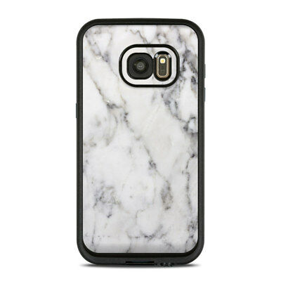Skin for LifeProof FRE Galaxy S7 - White Marble - Sticker Decal