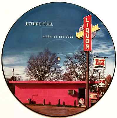 "JETHRO TULL - Rocks On The Road (12"" Single) (Picture Disc) (G/G+)"