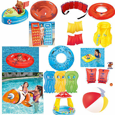 Swim seat Water wings Swimming vest Swimming aid Ball Boat Pool select 1 Piece