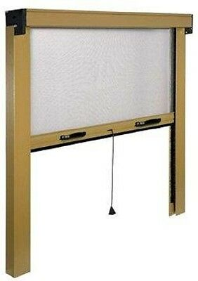 Roller Insect Mesh Window Blind (3 sizes)
