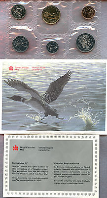 Canada ~ 1994 ~ Mint Set ~ 6 Coin