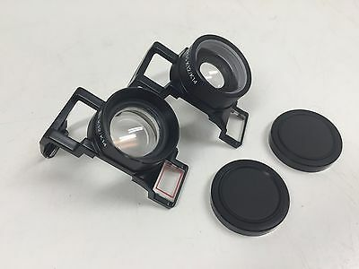 Photoco Auxiliary Lens Set Telephoto & Wide Angle for Kodak K-12   A2