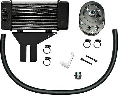 Jagg Lowmount 10-Row Oil Cooler System (Chrome)