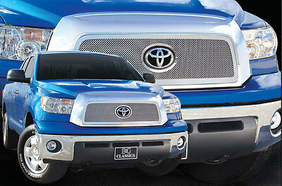 1Pc Stainless Steel Fine Mesh Grille Grill E&g Fits 2007 2008 2009 Toyota Tundra