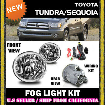 for TOYOTA 01-07 TUNDRA SEQUOIA Fog Lights Driving Lamp Kit switch wiring