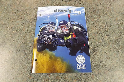 PADI Red Scuba Dive  Divers Logbook & Pages 70048 To log all your scuba dives