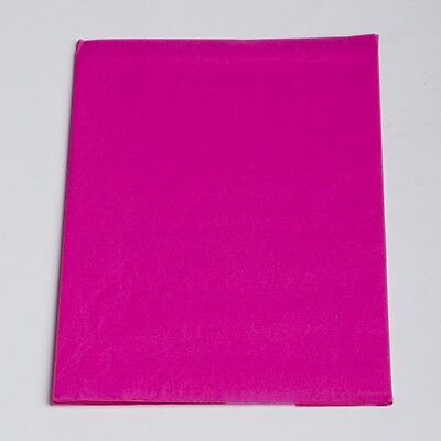 "TISSUE PAPER HOT PINK 20"" x 30"" 480 Sheets 1 Ream Quality Premium Wraping"