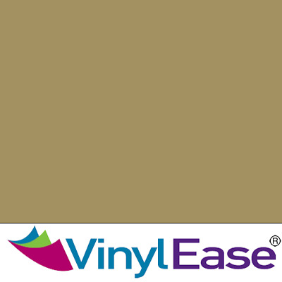 One 12in x 20ft Roll Glossy Gold Permanent Craft and Sign Vinyl V0407