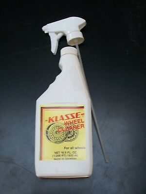 WCL500 Klasse Wheel Cleaner 16.9oz - Applicable on all types of wheels
