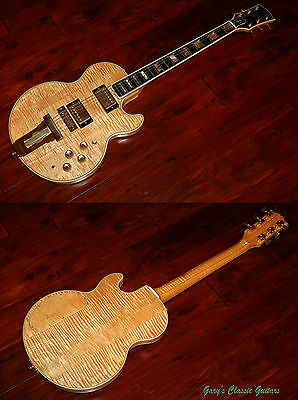 1977 Gibson L5-S Highly flamed with rare blonde finish