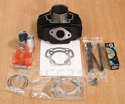 Yamaha QT50 (60cc big bore) Cylinder Piston Rings Gaskets Assembly
