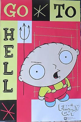 Family Guy Stewie-LAMINATED POSTER-90cm x 60cm-Brand New
