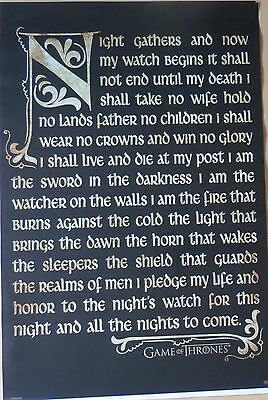 Game of Thrones - Oath-LAMINATED POSTER-91cm x 61cm-Brand New
