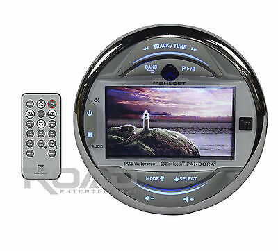 "OB - Dual MGH30BT Marine Digital Media Stereo w/ Bluetooth 3"" Display Boat Radio"