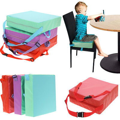 Children Dining Booster Chair Highchair Cover Baby Kids Soft Seat Cushion Pad