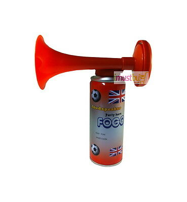 1x Single Air Horn (Gas) Hand Held Football Sport Event Team Supported Loud