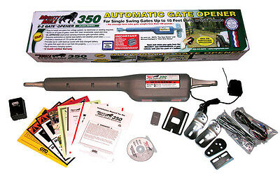 Mighty Mule GTO FM350 Automatic Single Swing Gate Opener Kit