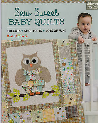Sew Sweet Baby Quilts - gorgeous quilt pattern BOOK - Kristin Roylance