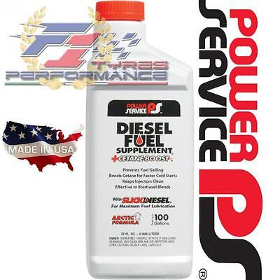 Power Service Diesel Fuel Supplement Antigelo + Cetane Boost Slickdiesel 946ML