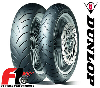 Coppia Gomme Moto Scooter Dunlop Scootsmart 140/70-15 69S+120/70-16 57S [5G]