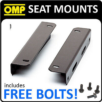 "Hc/660 Omp Racing ""l"" Shaped Seat Mount Brackets For Lower Mount Seat (Type Y)"