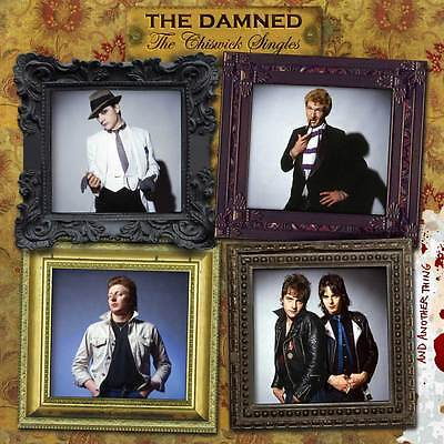 New The Damned The Chiswick Singles 180g Vinyl 2 LP Limited Edition Coloured