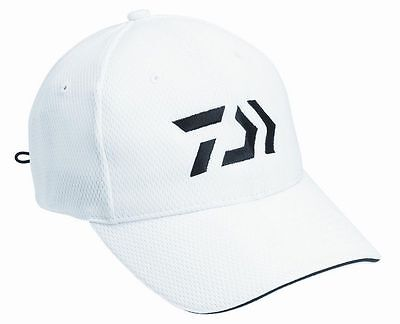 Daiwa White Cap 9 D-Vec Fishing Hat Sports Cap WORLDWIDE SHIPPING