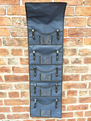Belstane Navy 5 Bit Organiser In Tack Room  Stable  Trailer   Bnwt